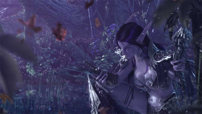 《魔兽世界:经典旧世》游戏开场CG动画
